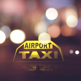 Airport taxi naar de luchthaven